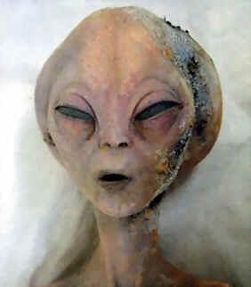 Grey Alien Head