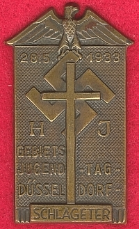 Hitler Youth Day Badge 1933