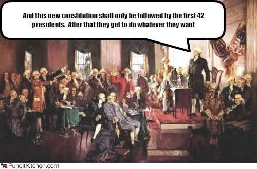 Only Some President Should Follow the Constitution