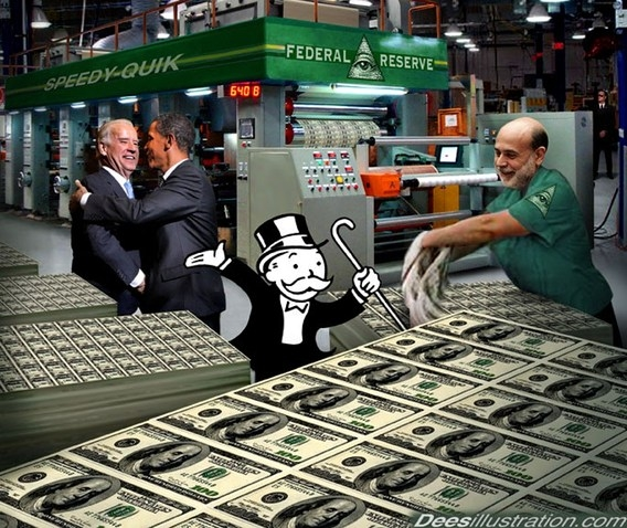 federal reserve monopoly money