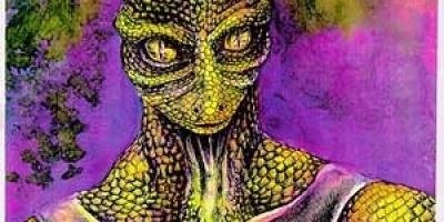 Reptilian Illustration