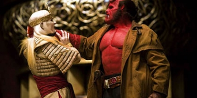 HELLBOY DRAWS MANY PARALLELS ALIEN REALITY!
