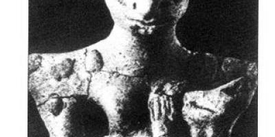 Sumerian Goddess Figurine From Ubaid