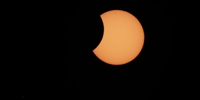Solar Eclipse over Austrailia 