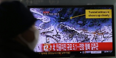 SEOUL,SOUTH KOREA SAID, NORTH KOREA CONDUCTED A NUCLEAR  TEST TUESDAY!