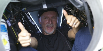 The Famous Movie Director, James Cameron makes News Again!