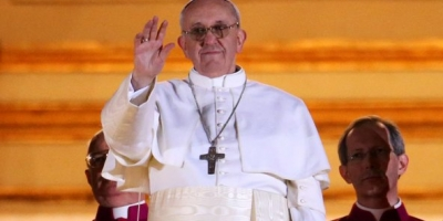 POPE FRANCIS FROM ARGENTINA IS THE CATHOLIC'S NEW POPE