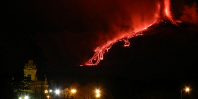 MOUNT ETNA ERUPTS!