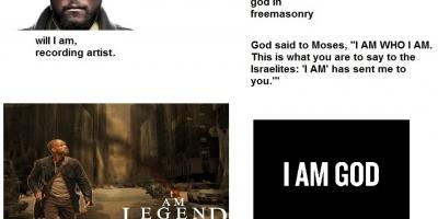 """""""I am"""", the secret name of god"""