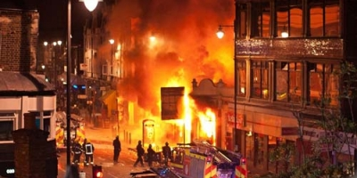LONDON IS BURNING