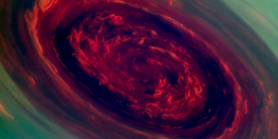Nasa&#039;s Space Probe Cassini Captures Massive Hurricane on Saturn!