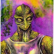 Reptilian Illustration