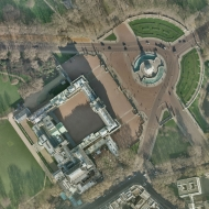 Buckingham Palace From The Air Symbolism