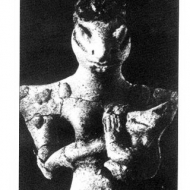 Sumerian Goddess Figurine From Ubaid