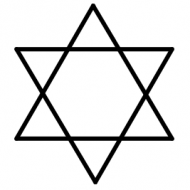 The 6 Pointed Star / Star of David