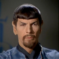 Mr. Spock of the USS Enterprise.