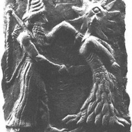 God enlil killing a sun goddess