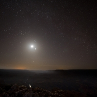 The Grand Canyon on a Moonlite Night!
