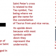 saint peter's cross