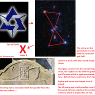 Is the star of david's origin, Orion?