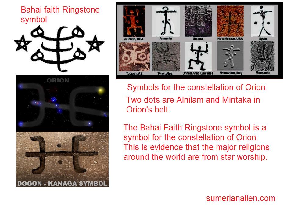 Bahai Faith Ringstone Symbol Truth Control