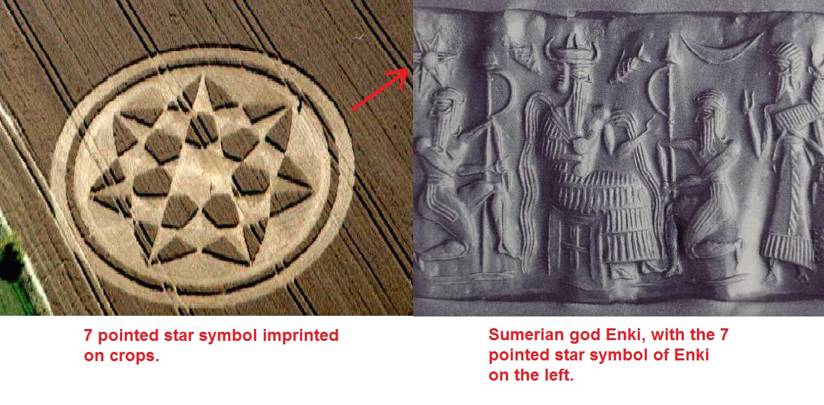 Another Crop Circle Of The Sumerian God Enki Truth Control