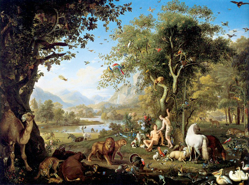 Garden of eden picture truth control for Best fishing time today