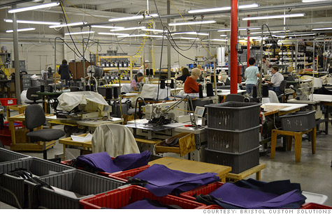 Clothes Being Made In A Clothing Factory Truth Control