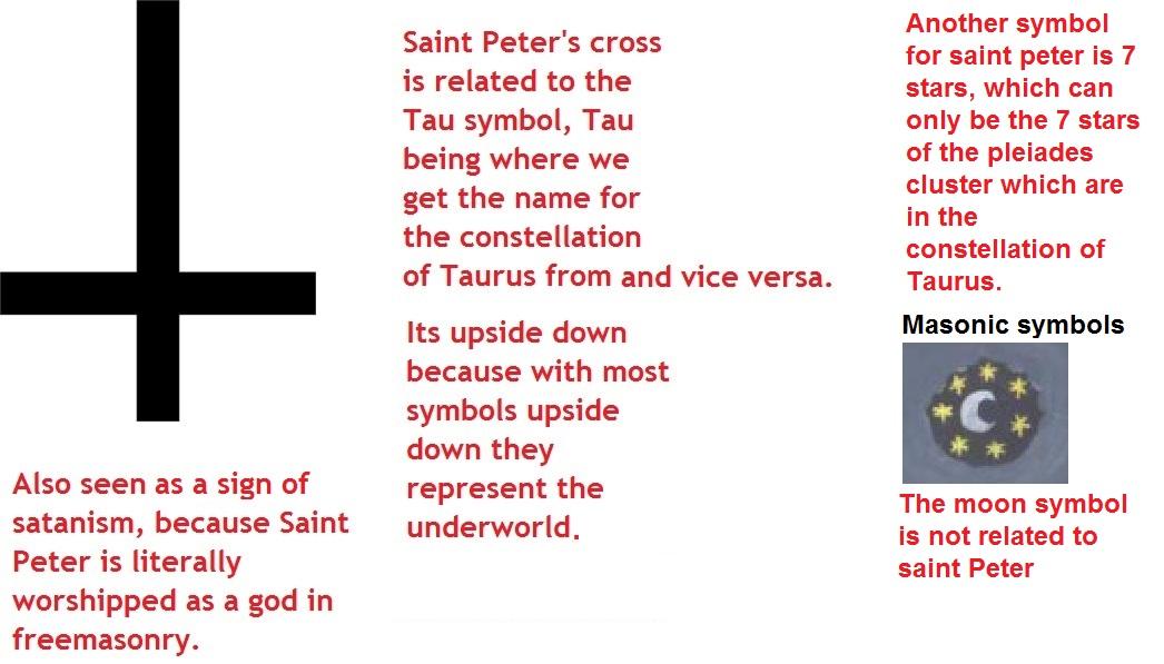 Saint Peters Cross Truth Control