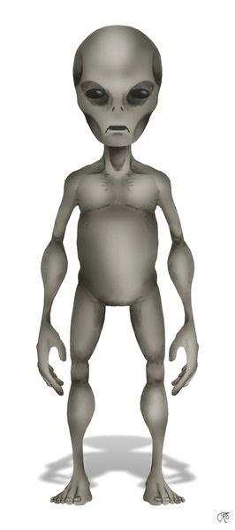 Grey Alien Picture