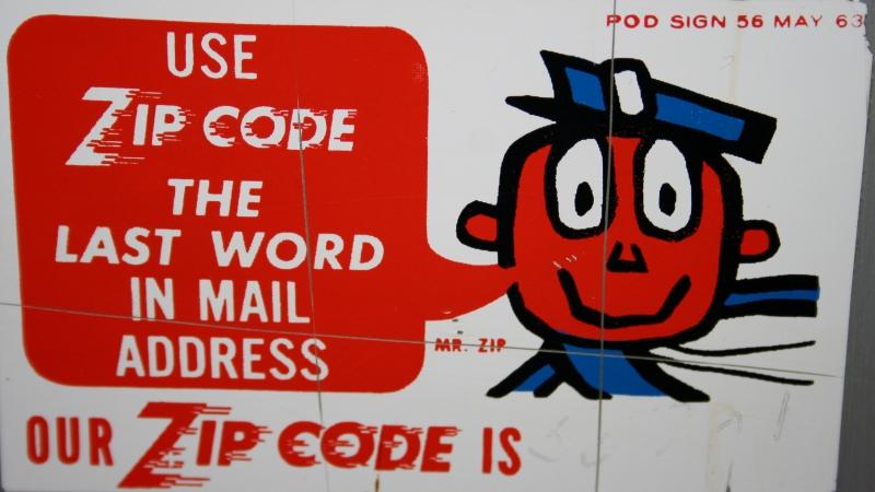 ZIP Code Sign