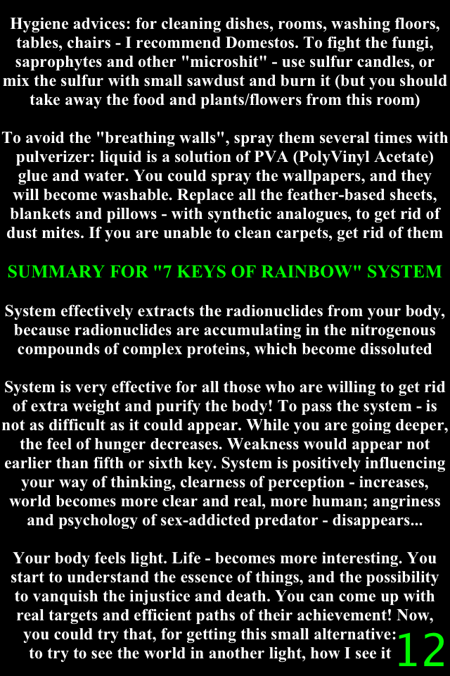 7 KEYS OF RAINBOW - PART 2