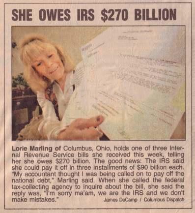 IRS Owed $270,000,000,000