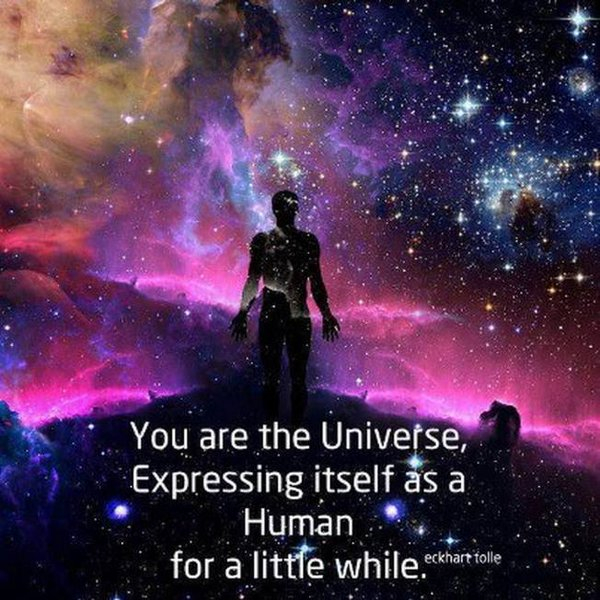 The Universe in you.