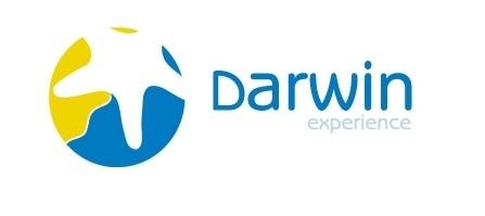 Satanic symbol on Darwin experience website