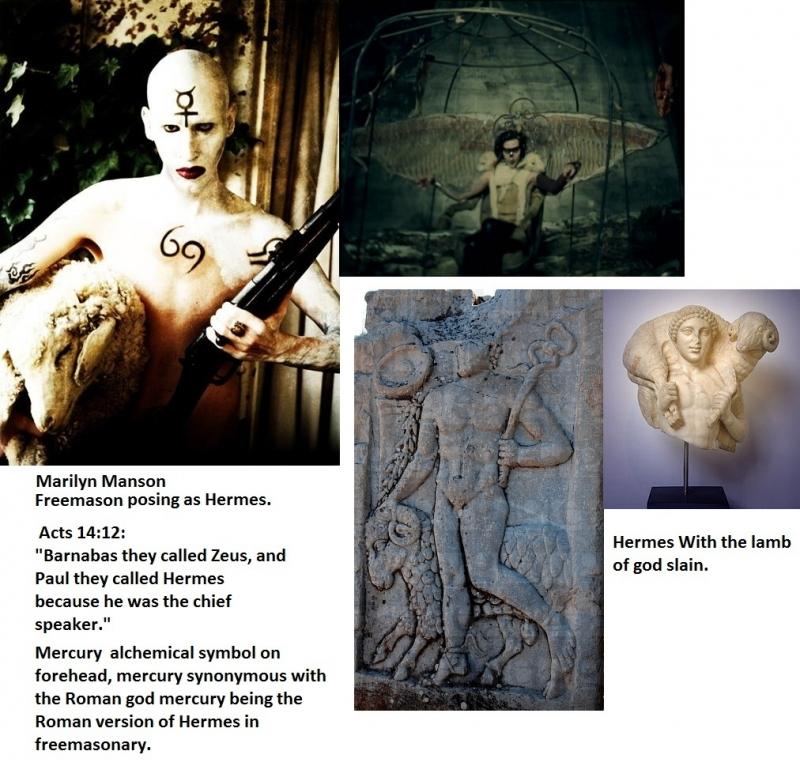 Freemason posing as Hermes AKA the apostle Paul