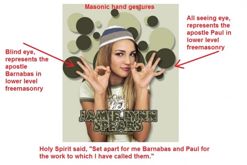 Masonic hand gesture
