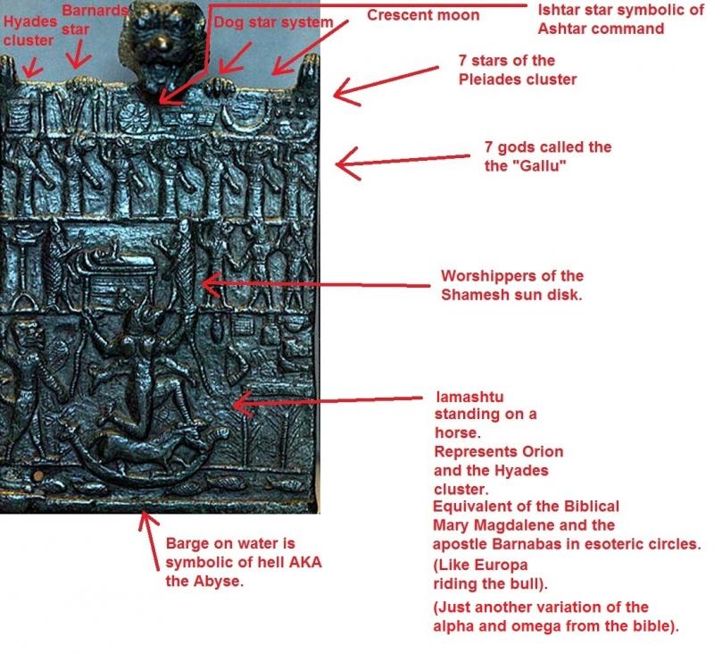 Lamashtu and the Gallu on the Sumerian tablets