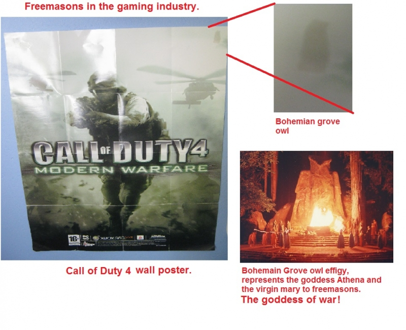 Call of duty 4 wall poster with a little surprise??