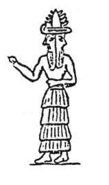 Janus the two headed god