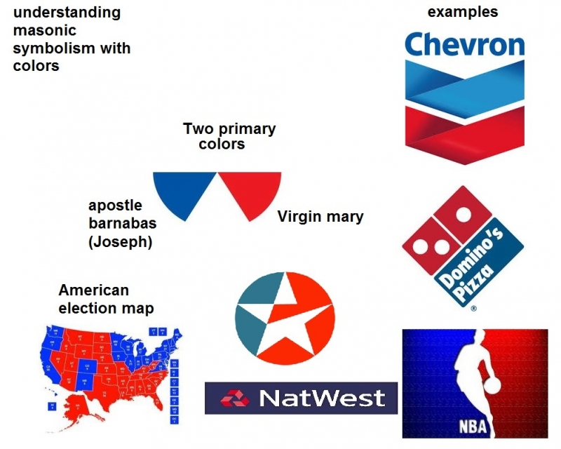 symbolism of colors in masonic logos