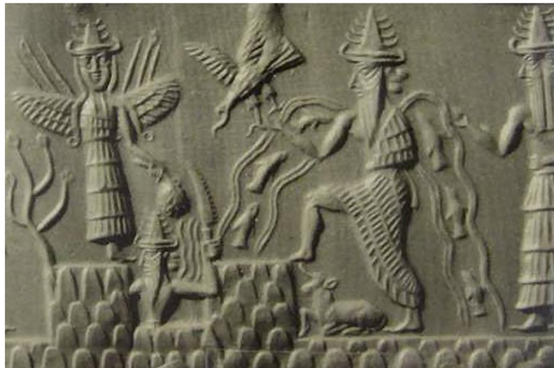 Sumerian Tablet - Enki the Great Satan and God of the Abyse