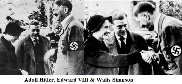 Adolf Hitler & British King Edward VIII