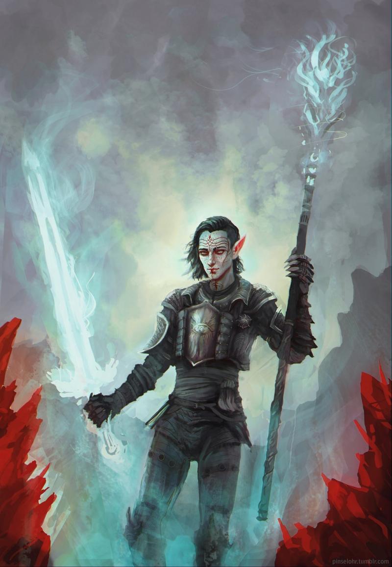 Elven Arcane Warrior.