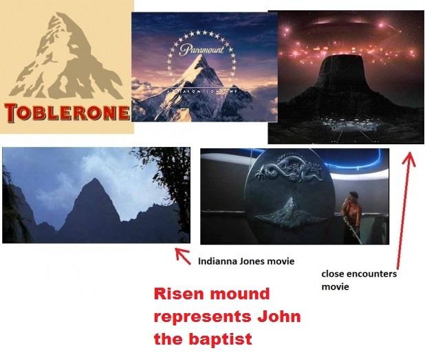 Risen mound of Shamesh in logos and movies