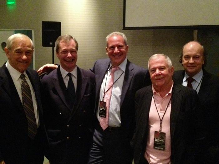 Ron paul and Nigel Farage
