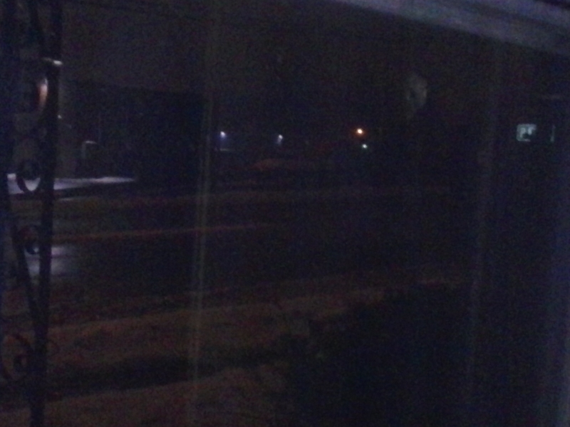 REAL ghost pic in my window