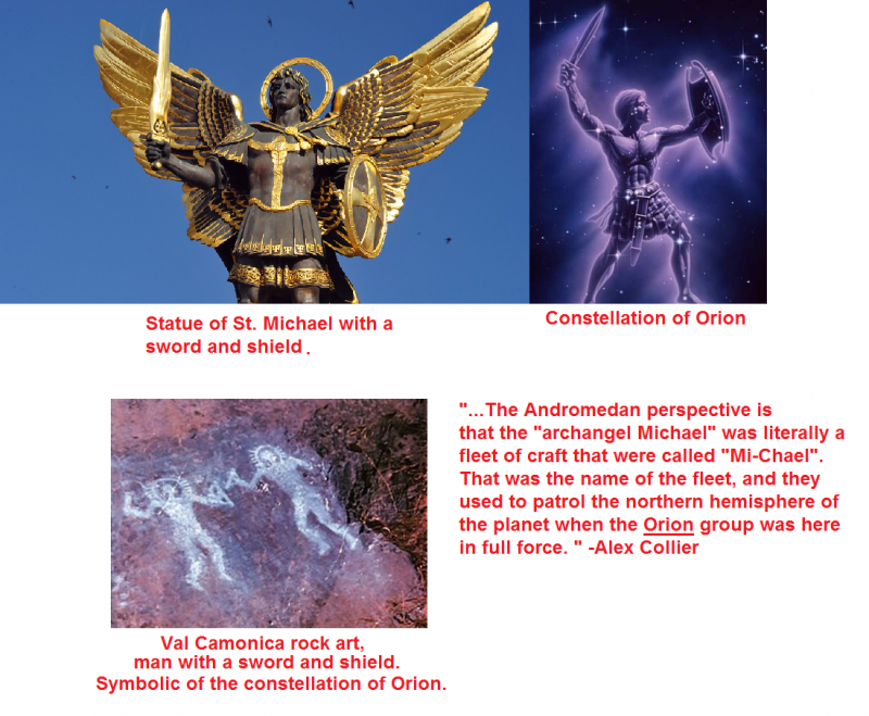 Evidence that St.Michael was an Orion ship