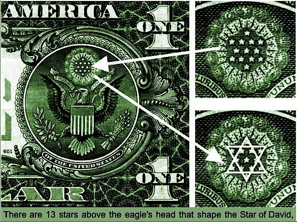 explanation of the eagle and stars and more on the US dollar
