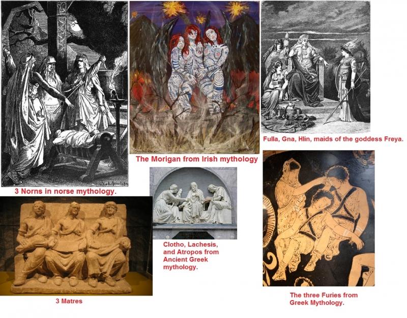 more triple goddesses from mythology